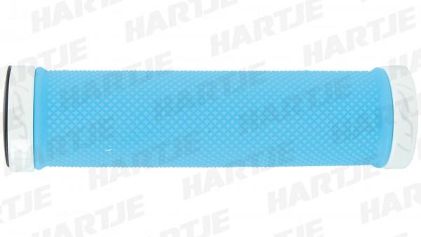 """CONTEC Griff """"TRC""""; SB-verpackt, 126,5mm, D2-Zweikomponenten, Lenkerklemmung, Paar; Im Bereich der Handauflage sorgt die weiche Gel-Mischung für Komfo"""
