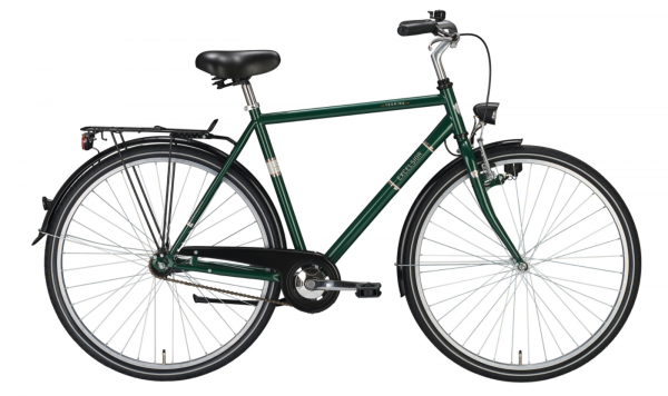 "EXCELSIOR Cityrad ""Touring"" Mod. 20, Diamant, 28"", grün metallic, 55cm"