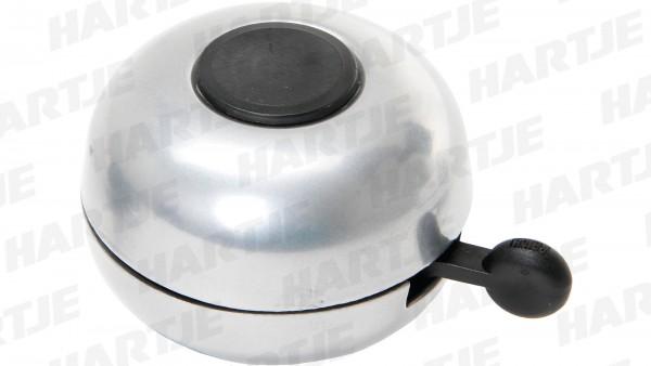 """CONTEC Glocke """"Little Ding""""; SB-verpackt, Stahl, Ø 66mm, passend für Lenker-Ø 22,2mm, silber"""
