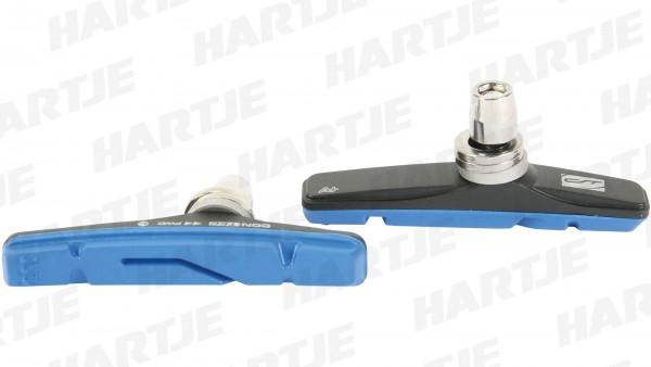 """CONTEC Bremsschuh """"V-Stop +""""; SB-verpackt, für V-Brakes; Alloy Plus Compound - 2 Komponenten-Belagmischung sorgt für eine erhöhte Bremsperformance um"""