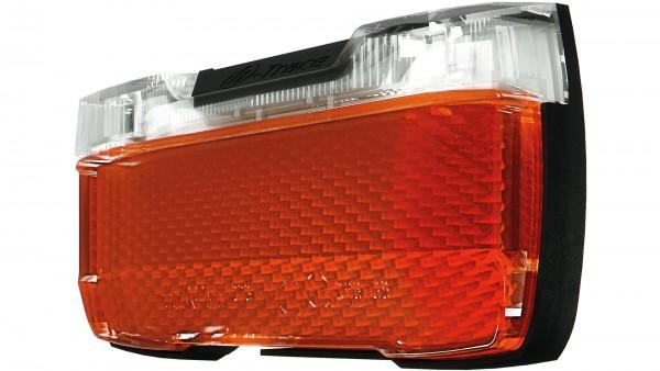 """HERRMANS LED-Rücklicht """"H-Trace E""""; Mit deutschem Prüfzeichen, SB-verpackt, 6-12VDC, Schraubenabstand 50mm, mit 2 LEDs, mit einem hochwertigen Lichtle"""