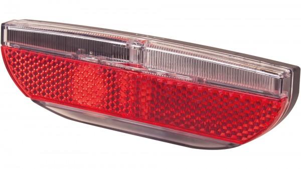 """SPANNINGA LED-Gepäckträgerrücklicht """"Vivo XDS""""; SB-verpackt, Standlicht, Gepäckträgerbefestigung, mit deutschem Prüfzeichen; 1 LED, Light-Line-Technol"""