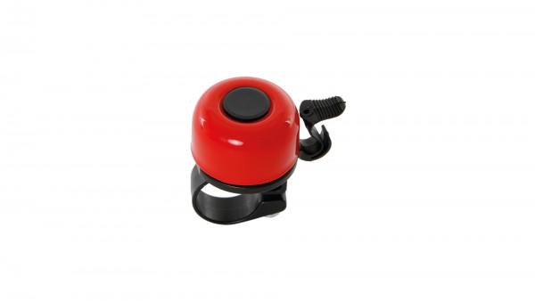 "CONTEC Miniglocke ""Mini Bell""; SB-verpackt, Aluminium, Ø 33mm, passend für Lenker-Ø 22,2mm, rot"
