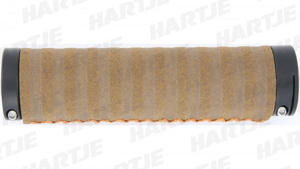 """CONTEC Griff """"Virage Exclusiv""""; SB-verpackt, 131mm, Synthetikmaterial, Lenkerklemmung, Paar; Hoher Komfort, robust und pflegeleicht, kunstvoll handver"""