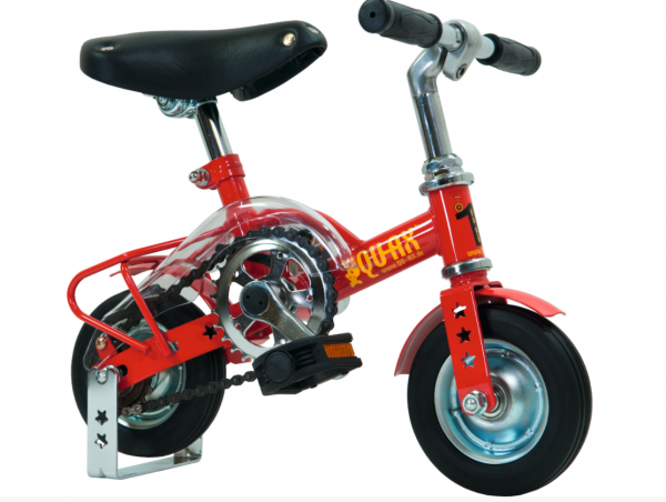 """QU-AX Einrad """"Fun Mini-Bike"""" Mod. 20, Unisex, rotmetallic"""