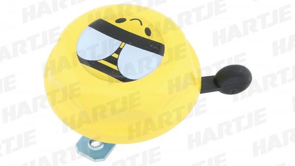 """CONTEC Kinderglocke """"Junior""""; SB-verpackt, Aluminium, Ø 55mm, passend für Lenker-Ø 22,2mm, """"Biene"""", gelb"""