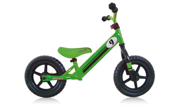"REBEL KIDZ Lauflernrad ""Little Rebell"" Mod. 20, Unisex, racing green"