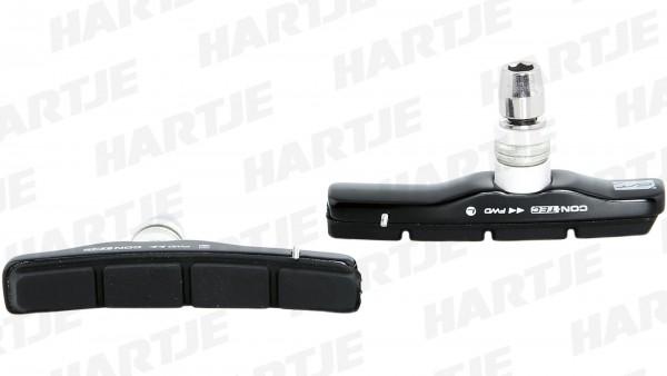 """CONTEC Bremsschuh """"V-Stop""""; SB-verpackt, für V-Brakes, Cartridge; Medium Compound - mittelharte Gummimischung für optimale Verzögerung und minimalen V"""