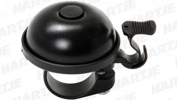 "CONTEC Miniglocke ""Medi Bell""; SB-verpackt, Aluminium, Ø 40mm, passend für Lenker-Ø 22,2mm, schwarz"