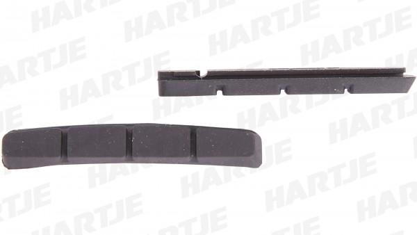 "CONTEC Bremsgummi ""V-Stop""; SB-verpackt, für Cartridge V-Brake Bremsschuhe, optimale Bremsleistung bei minimalem Verschleiß, 70mm lang, Satz à 2 Stück"