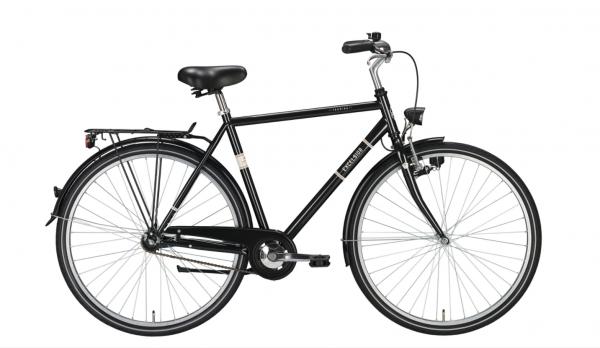 "EXCELSIOR Cityrad ""Touring"" Mod. 20, Diamant, 28"", black, 55cm"