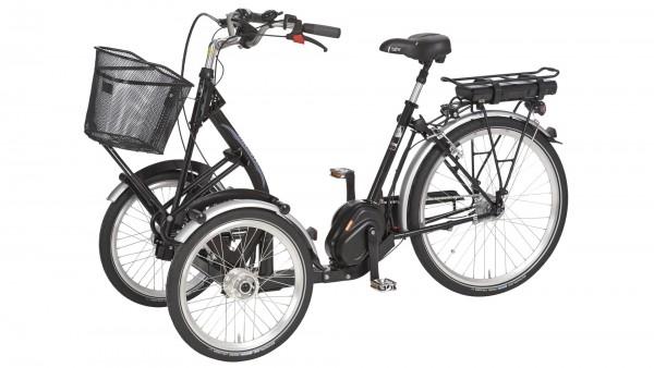 "PFAU-TEC Elektro-Shoppingrad ""Pronto"" Mod. 21, Tiefeinsteiger, 20 / 26"", schwarz, 7-Gang SHIMANO ""Nexus"" RBN, 45cm"
