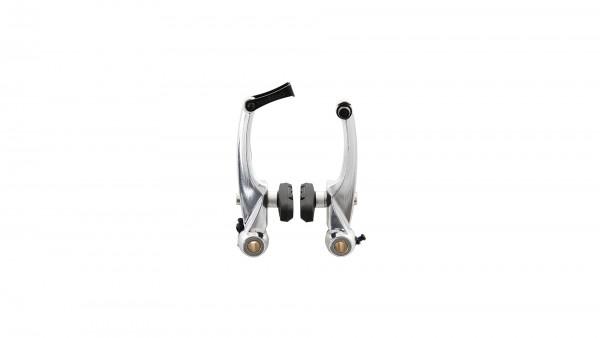 """CONTEC V-Brake """"BR-MT10""""; SB-verpackt, Aluminium, mit Kabelführungsröhrchen 90°, geschmiedet, Bremsschuh 63mm mit Schraubbefestigung, Schenkellänge 10"""
