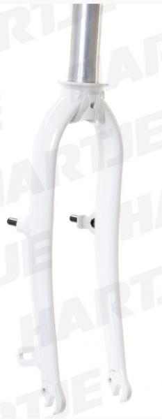 """TERN Aluminium-Gabel 20"""", weiß, passend für Verge X10 Mod.12/13"""