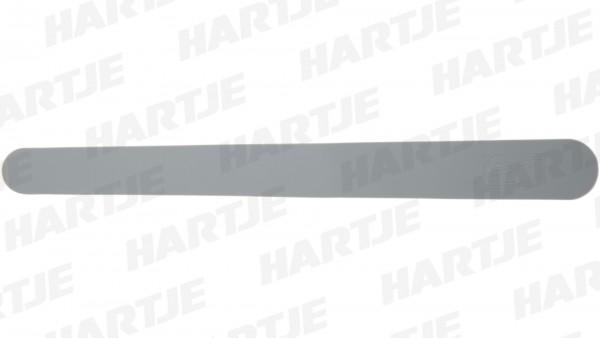 """CONTEC Kettenstrebenschutz """"Zen Neo""""; Silikon, 260mmx27mmx20mm; Verhindert das Zerkratzen des Lackes durch die Kette, selbstklebend, coolgrey"""