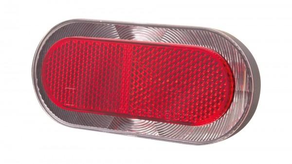 """SPANNINGA Batterie-LED-Rücklicht """"Elips XB""""; SB-verpackt, Gepäckträgerbefestigung, mit deutschem Prüfzeichen; 6 LED, Leuchtdauer: über 50 Stunden, Bet"""