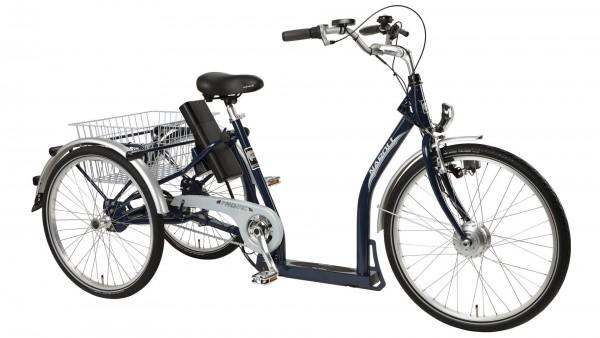 "PFAU-TEC Elektro-Shoppingrad ""Napoli II"" Mod. 20, Unisex, dunkelblau, 45cm"