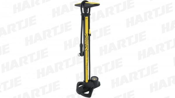 "CONTEC Handkompressor ""Air Support Sport""; 11 bar / 160 psi, für alle Ventile, Stahl / Kunststoff; SB-verpackt, mit stabilem Kunststofffuß, Kraton-Gum"