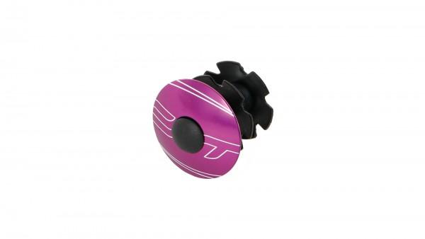 "CONTEC Ahead-Kralle ""Select""; 1 1/8"" SB-verpackt, mit Aluminium-Kappe und Schraube, Ultra violet"