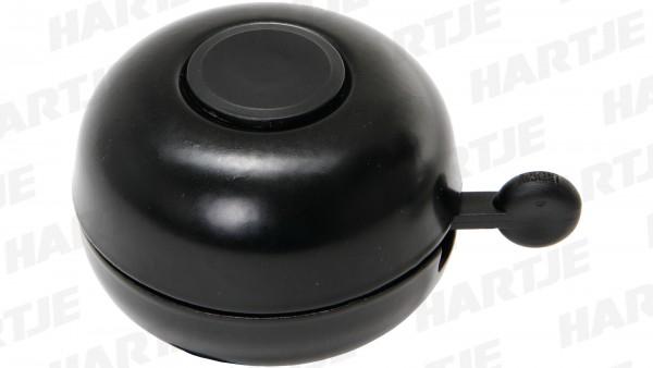 "CONTEC Glocke ""Little Ding""; SB-verpackt, Stahl, Ø 66mm, passend für Lenker-Ø 22,2mm, schwarz"