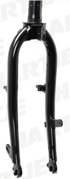 """TERN Aluminium-Gabel 20"""", schwarz, 142 mm, passend für Link P24H Mod.13/14"""