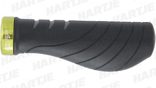 """CONTEC Griff """"Ergo +""""; SB-verpackt, 133mm, D3-Dreikomponenten, Lenkerklemmung, Paar; Mittel - im vorderen Teil, um den Fingern einen festen und sicher"""
