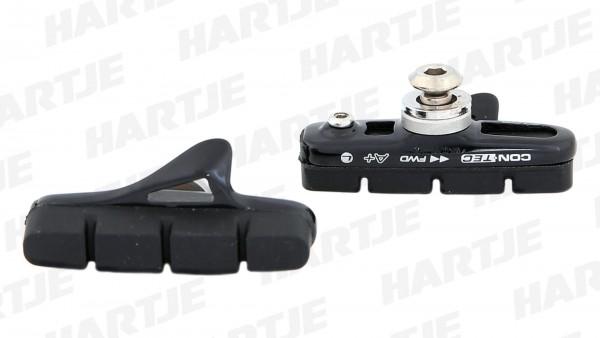 """CONTEC Bremsschuh """"R-Stop""""; SB-verpackt, für Seiten- und Mittelzugbremsen, Cartridge; Medium Compound - mittelharte Gummimischung für optimale Verzög"""