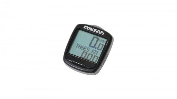 """CONTEC Fahrradcomputer """"C-1200""""; SB-verpackt, 12 Funktionen; Für sportlich ambitionierte Biker ist der C-1200 mit seiner Funktionsvielfalt die richtig"""