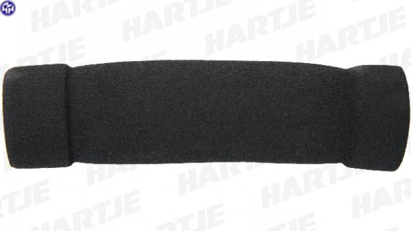 Griff; Lose, 125mm, Schaumstoff, Paar, ATB / MTB, mit Stopfen, schwarz
