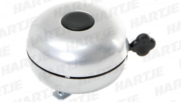 """CONTEC Glocke """"Big Dong""""; SB-verpackt, Stahl, Ø 88mm passend für Lenker-Ø 22,2mm, silber"""