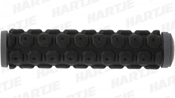 """CONTEC Griff """"Sport""""; SB-verpackt, 135mm, D2-Zweikomponenten, Paar; Im Bereich der Handauflage sorgt die weiche Gel-Mischung für Komfort und Stoßabsor"""