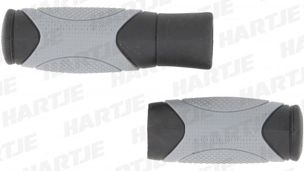 """CONTEC Griff """"Traffic""""; SB-verpackt, D2-Zweikomponenten, Paar, schwarz/grau; Im Bereich der Handauflage sorgt die weiche Gel-Mischung für Komfort und"""
