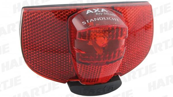 """AXA LED-Gepäckträgerrücklicht """"Ray Steady""""; Mit Standlicht (6 Min.); Ladezeit des Kondensators: zwei Minuten bei 15km/h, LED mit über 100.000 Stunden"""