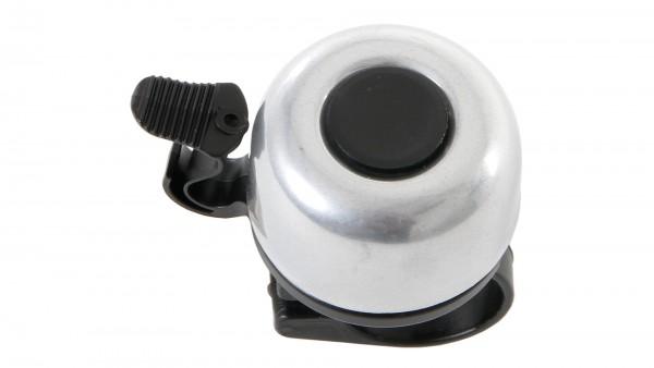 """CONTEC Miniglocke """"Mini Bell""""; SB-verpackt, Aluminium, Ø 33mm, passend für Lenker-Ø 22,2mm, silber"""