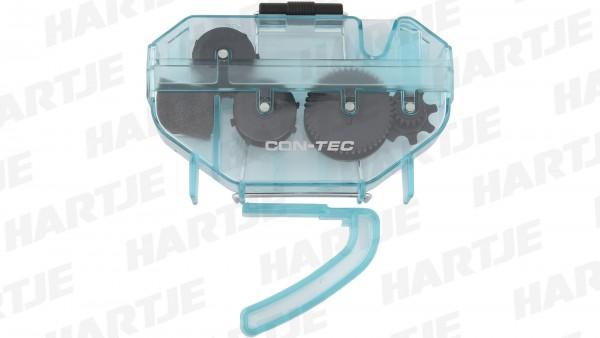 """CONTEC Kettenreinigungsgerät """"TFM-340""""; SB-verpackt, rotierende Bürsten reinigen die Kette von allen Seiten. Sehr leichte Handhabung. Stabiles, tropff"""
