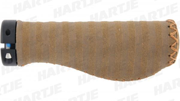 """CONTEC Griff """"Virage Ergo Exclusiv""""; SB-verpackt, Synthetikmaterial, Lenkerklemmung, Paar; Hoher Komfort, robust und pflegeleicht, kunstvoll handvernä"""
