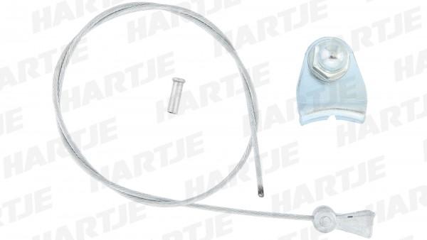 CONTEC Querzug; SB-verpackt, für Cantileverbremse, kpl. mit Kabelträger, 380mm lang