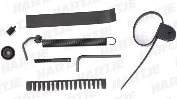 CONTEC Lenkungsdämpfer; SB-verpackt, verhindert das Umschlagen des Vorderrades bei Verwendung von Zweibeinständern, für Rahmen-Ø 38 bis 62mm