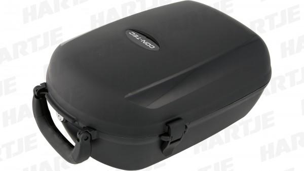 """CONTEC Gepäckträgerbox """"Cargo""""; Volumen: 13l, Maße (L x B x H): 36,5x25,5x17,5cm; Abschließbare Kunststoffbox, diebstahlsicher zu befestigen, passend"""